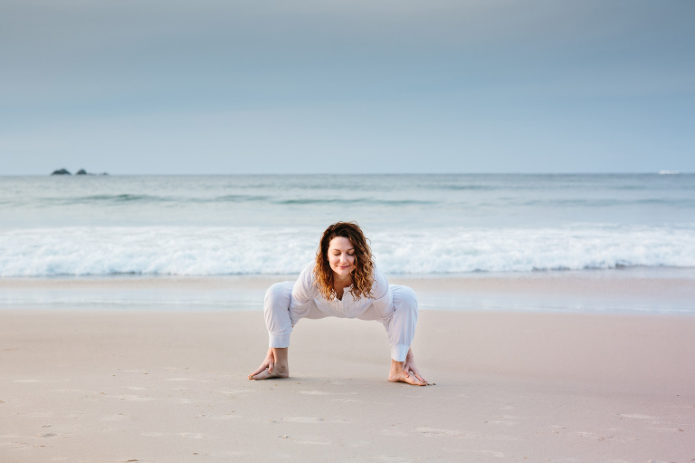 yoga instructor portraits byron bay